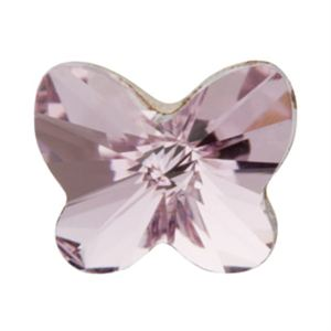 Picture of Amethyst Butterfly Charm